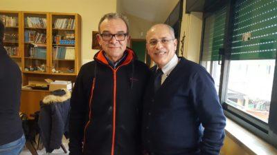 Gianni Palombi con padre Felice Terracciano