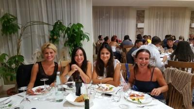 Da sinistra: Roberta Caniglia, Giuditta Borghetti, Simona Giovatore e Alessia Carleschi.
