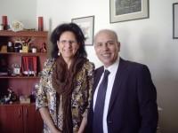 Incontro con la Delia Del Gatto Reyes Direttrice della Fundacion Mi Casa
