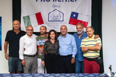 Da sx: Marco Valeri, Luca Federici, Alan Gamboni, Maria Rita Bonafede, Gianni Palombi, Massimo Scodavolpe, Francesco Schiavello