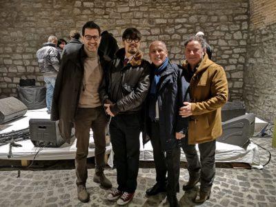 Roberto Mastrosanti,Greg,Gianni Palombi e Riccardo Femia