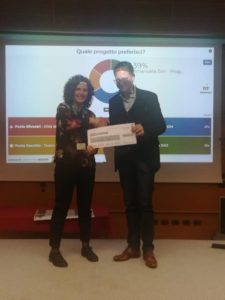Emanuela Zen riceve il premio aziendale